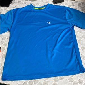 Champion Medium Blue Short Sleeve T